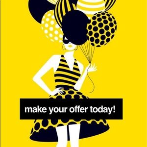 Other - 🖤💛Offers are always welcome!💛🖤